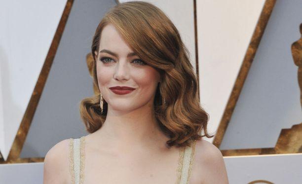 Emma Stone palkittiin Oscar-palkinnolla roolistaan La La Land-musikaalissa.