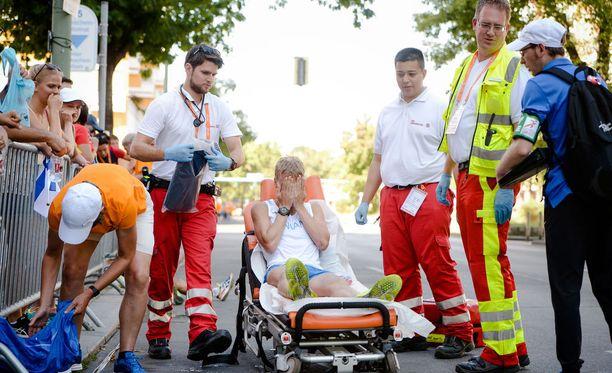 Aku Partanen lähti 50 kilometrin kävelyyn kovin odotuksin, mutta lopputulos oli hänelle kova pettymys.