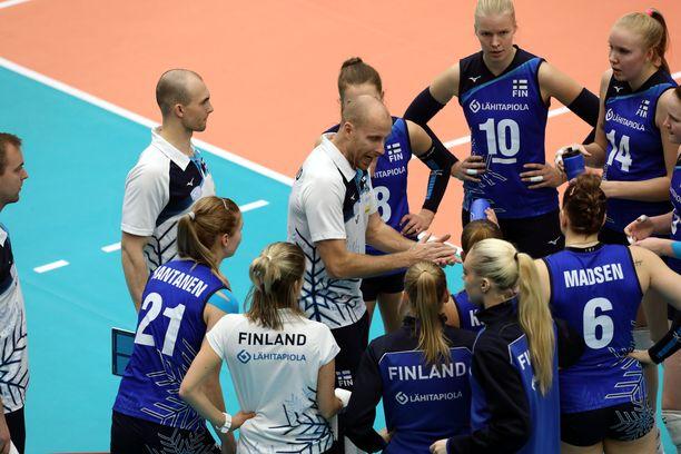 Suomen joukkue taipui EM-avauksessaan.
