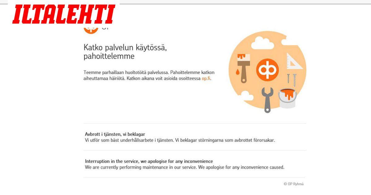Op Verkkopankki Häiriö
