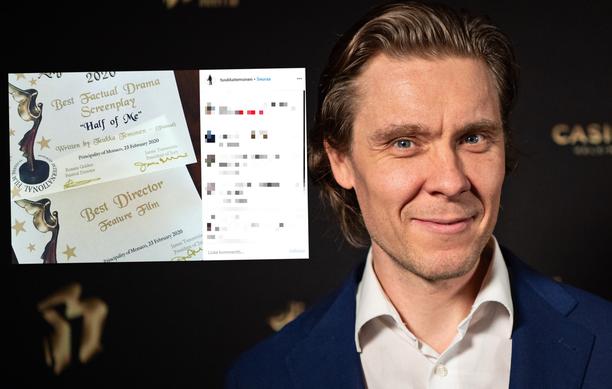 Tuukka Temonen palkittiin vastikään elokuvafestivaaleilla Monacossa.