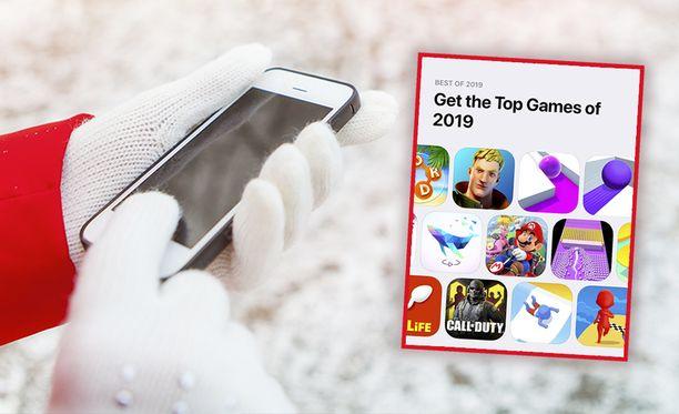 Apple listasi vuoden suosituimmat mobiilipelit.