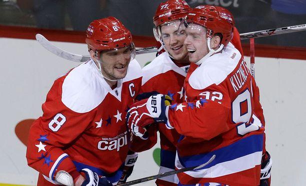 Aleksandr Ovetshkin on ampunut tällä kaudella jo 20 maalia.