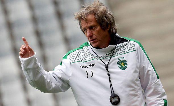 Jorge Jesusin komennossa Sporting löi Benfican 1-0 Portugalin Supercupissa toissaviikolla.