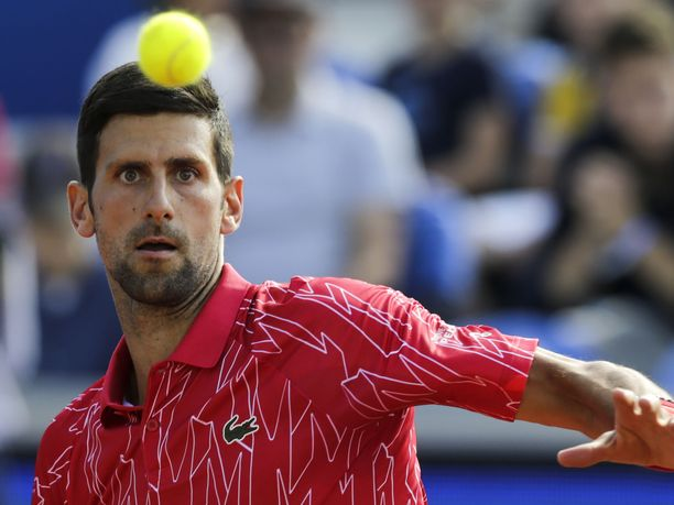 Novak Djokovic on palannut sairaslomalta takaisin harjoituksiin.