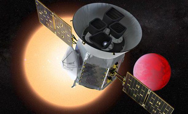 Tessin tehtävä on löytää elämälle kelvollisia planeettoja.