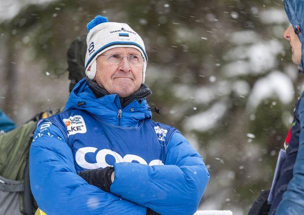 Virolainen hiihtovalmentaja Mati Alaver on tunnettu Suomen ystävä.
