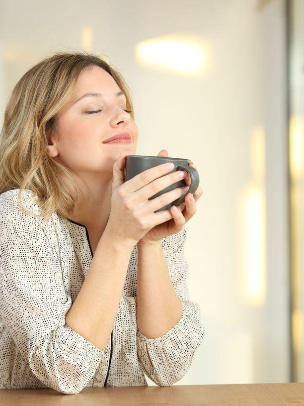 Rauhallinen kahvihetki tekee hyvää myös mielenterveydelle.