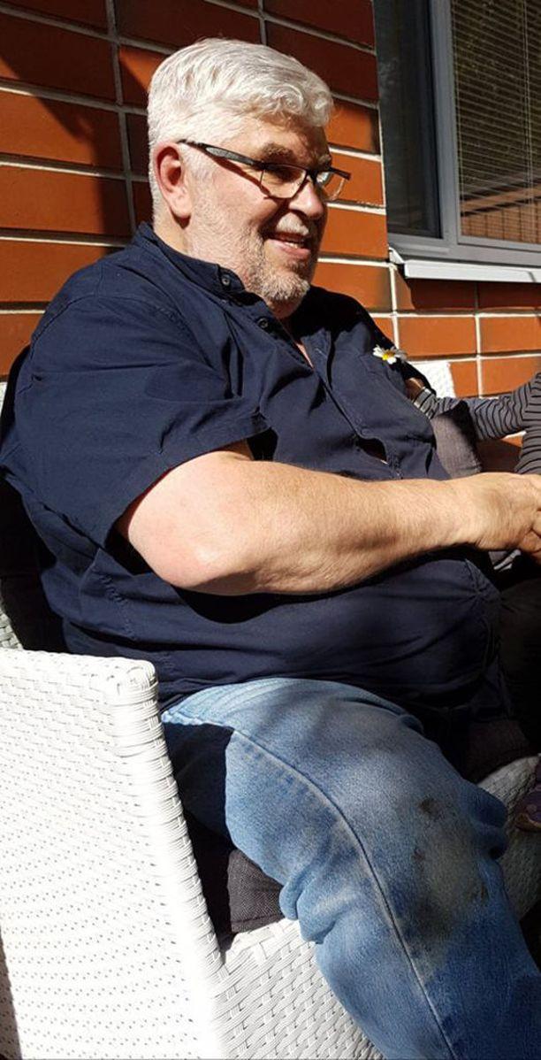 Pauli Harjula painoi enimmillään miltei 139 kiloa. - Tehty elämänmuutos on sellainen, josta ei ole vaihtoehtoa palata entiseen, hän sanoo.