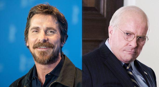Christian Balea on todella vaikea tunnistaa vahvan maskeerauksen alta elokuvassa Vice. Tätäkin elokuvaa varten Bale lihotti itseään rutkasti.