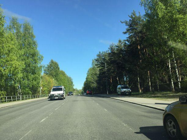 Tampereella näkyi lauantaina tavallista enemmän poliiseja.