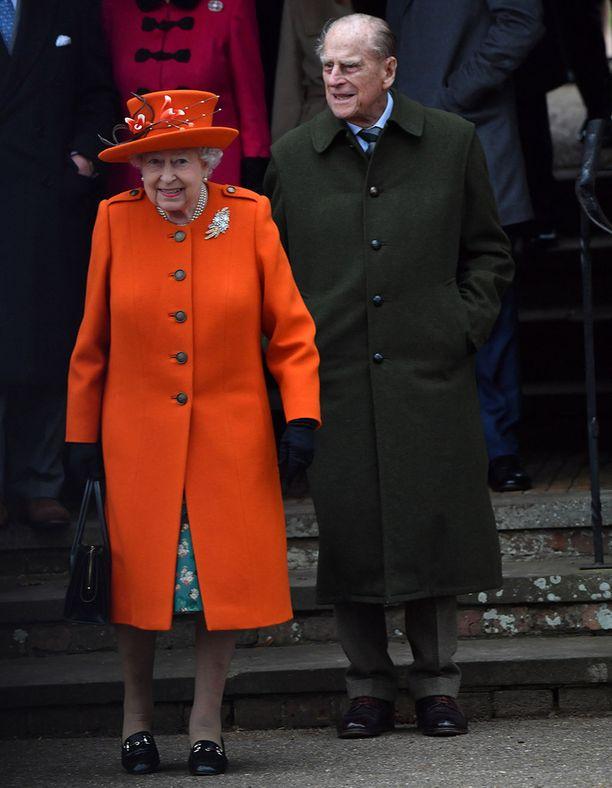 Elisabet ja Philip menivät naimisiin 70 vuotta sitten.