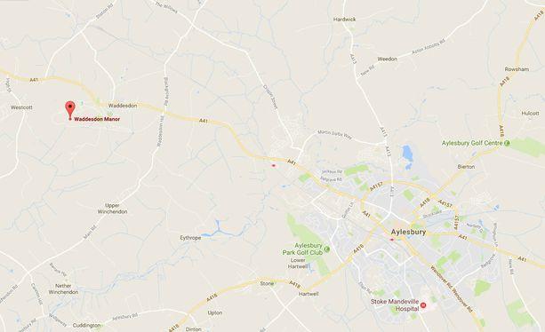 Lähellä Aylesburya sijaitsee Waddesdonin kartano.
