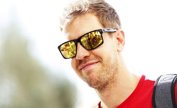Sebastian Vettel tulee hyvin toimeen suomalaisten kanssa.
