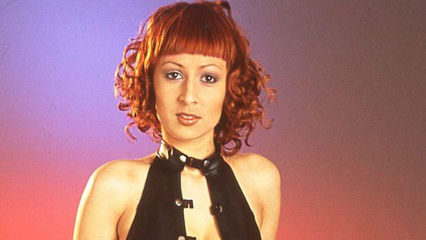 Vuonna 2001 Liekillä oli tulenpunainen tukka.
