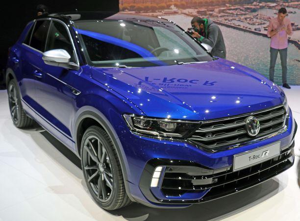 Volkswagenin toinen auto R Golfin ohella on nyt T-Roc R, joka hevosvoimainen moottori kiihdyttää auton alle 5 sekunnissa nollasta sataan.