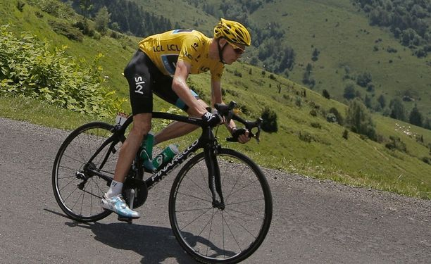 Chris Froome ajoi ylivoimaiseen voittoon Ranskan ympäriajossa.