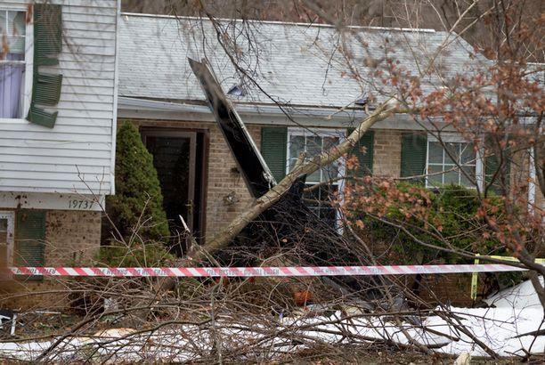 Kukaan talojen asukkaista ei loukkaantunut.