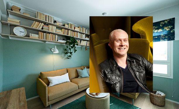 Huvila ja Huussi -ohjelmasta tutun sisustusarkkitehti Mikko Vesasen mukaan huonetta sisustaessa kannattaa kysyä itseltään, mitä teen tässä huoneessa? Mihin suuntaan haluaisin kehittää sen tyyliä?