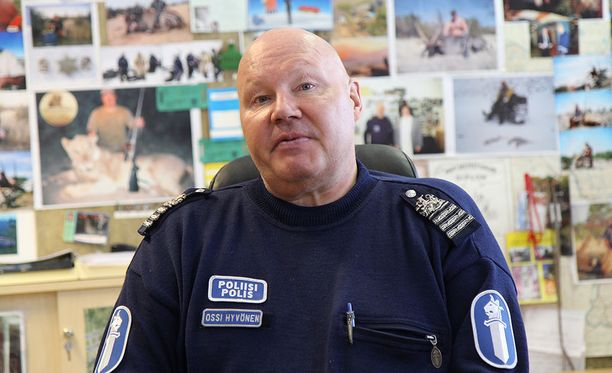 Muoniossa asuva rikosylitarkastaja Ossi Hyvönen tunnetaan kotiseudullaan värikkäänä persoonana.