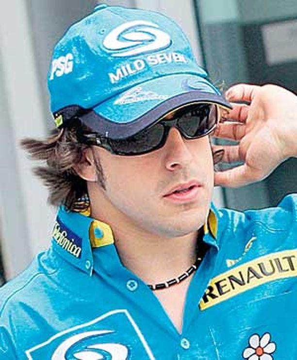 Fernando Alonso on tyytyväinen suorituksiinsa. Ihme ja kumma.