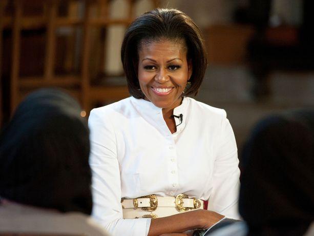 Michelle Obama oli Yhdysvaltojen ensimmäinen nainen hänen puolisonsa Barack Obaman toimiessa presidenttinä vuosina 2009–2017.