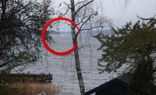 Tämän näyn mysteeriveneen kuvannut mies sai taltioitua.