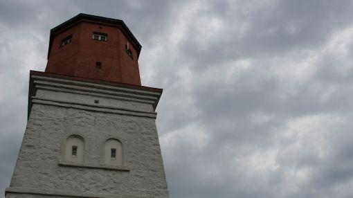 Orrengrundin saaren maamerkki on 1800-luvulla rakennettu majakka.