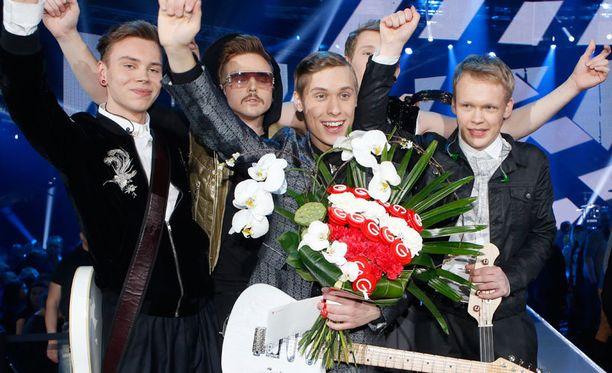 Softengine edustaa Suomea euroviisuissa.