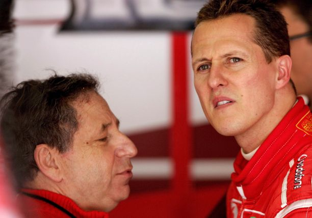 Kun Jean Todt luotsasi Ferraria, Michael Schumacher hoiti homman radalla ja ajoi viiteen maailmanmestaruuteen.