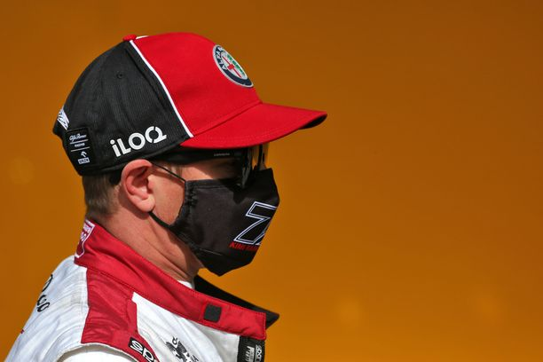 Kimi Räikkönen harmitteli autonsa vauhdin riittämättömyyttä.