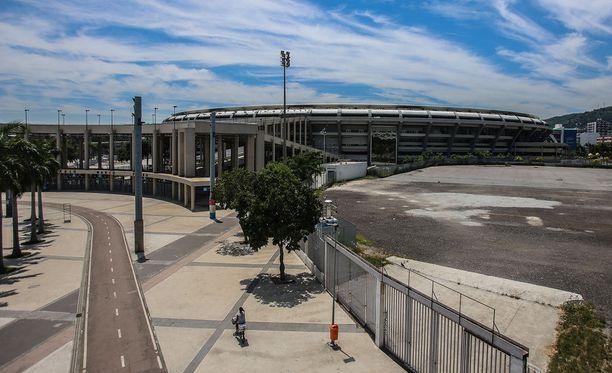 Maracana-stadionilla ei maksamattomien laskujen takia ole tällä hetkellä sähköjä.