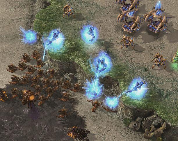 Starcraft on reaaliaikainen strategiapeli.