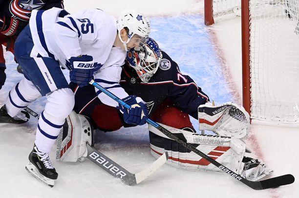 Maple Leafs pommitti Korpisalon vaihtoon edellisessä ottelussa.