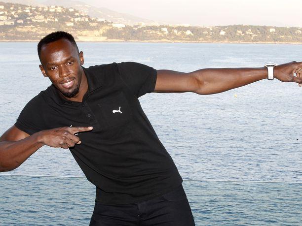 Usain Bolt on kaikkien aikojen menestynein pikajuoksija. Kuva vuodelta 2016.