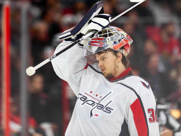 Ilja Samsonov ei ole joukkueensa mukana NHL:n pudotuspeleissä.