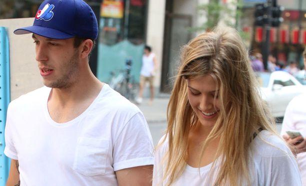 Jordan Caron ja Eugenie Bouchard on nähty ostoksilla Montrealissa.