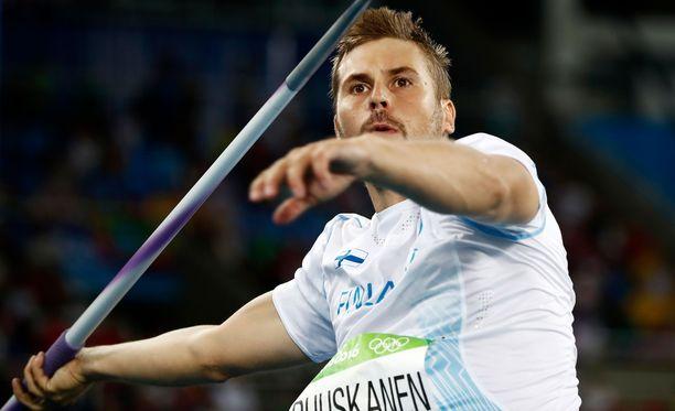 Antti Ruuskanen teki hienon tulosparannuksen.