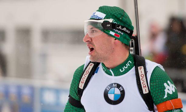Dominik Windischin takaa-ajokisa Oberhofissa oli katastrofaalinen.