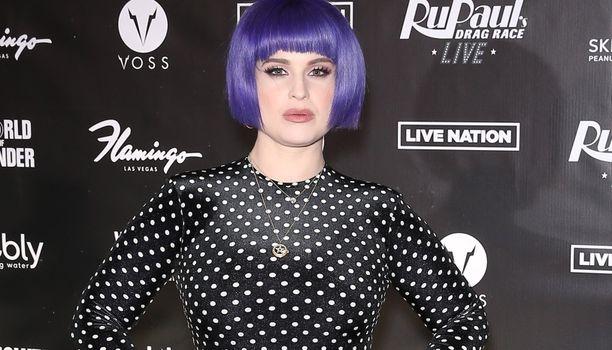 Kuva Kelly Osbournesta tammikuulta 2020.