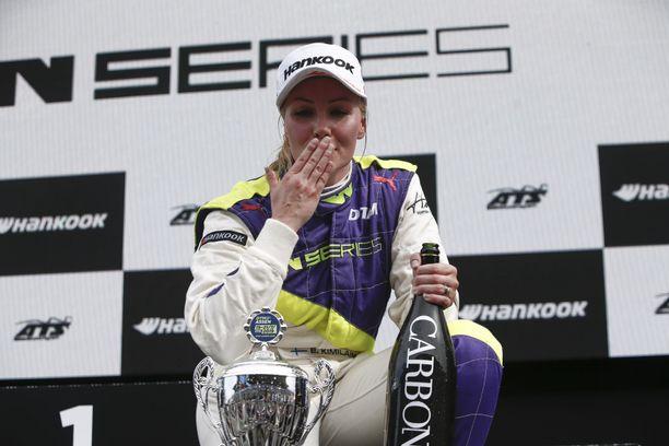 Emma Kimiläinen oli yksi W Series -kauden 2019 parhaista kuljettajista.