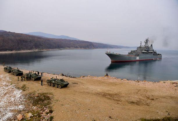 Venäjän laivasto harjoittelee ahkerasti ensi vuonna, osittain yhteistyössä eri aselajien kanssa.