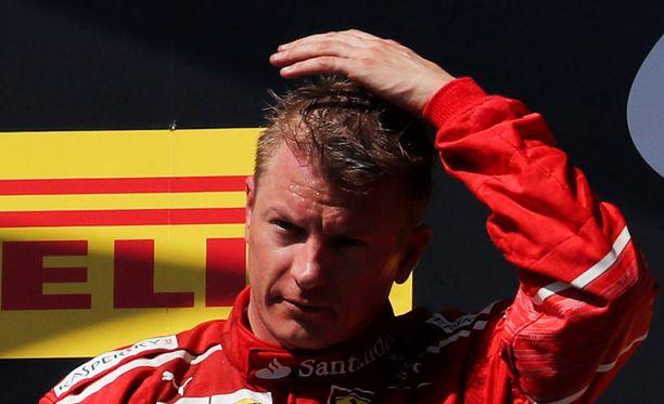 Kimi Räikkönen sijoittui Unkarin GP:ssä toiseksi.