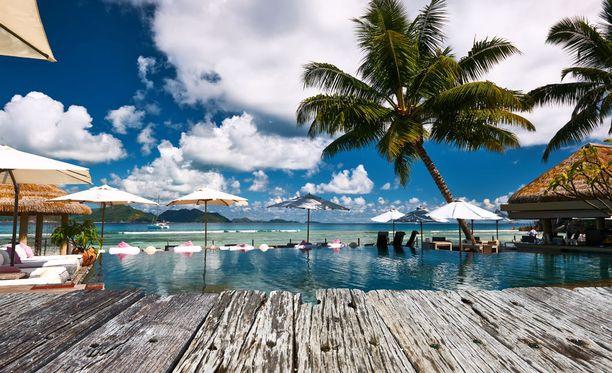 Merkittävien historiallisten kohteiden lisäksi risteilyt sisältävät rantalomailua Seychelleillä, Thaimaassa ja Filippiineillä. Kuva Seychelleiltä.