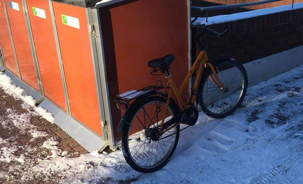 Pyörän voi noutaa Kuopion poliisilta.
