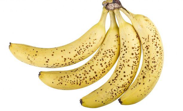 Banaani tai kaksi päivässä on sopiva annos osana terveellistä ruokavaliota.