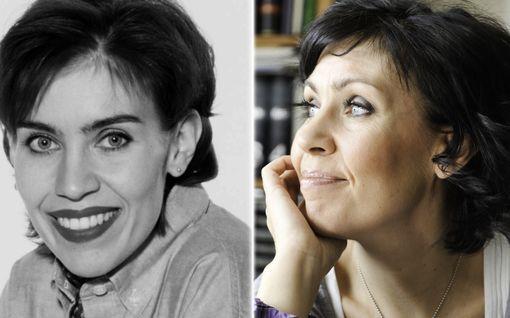 """Anna Hanski 50 vuotta – kaikki rysähti kerralla nuoren naisen elämään uran alussa: """"En juuri muista 90-luvusta mitään"""""""