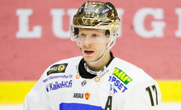 Mika Pyörälä oli runkosarjan paras pelaaja.