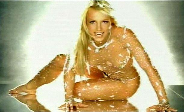 Blokatut musiikkivideot ovat tehneet paluun. Kuvassa Britney Spears.