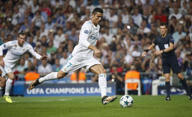 Cristiano Ronaldo kuritti APOELia kahdella maalilla.